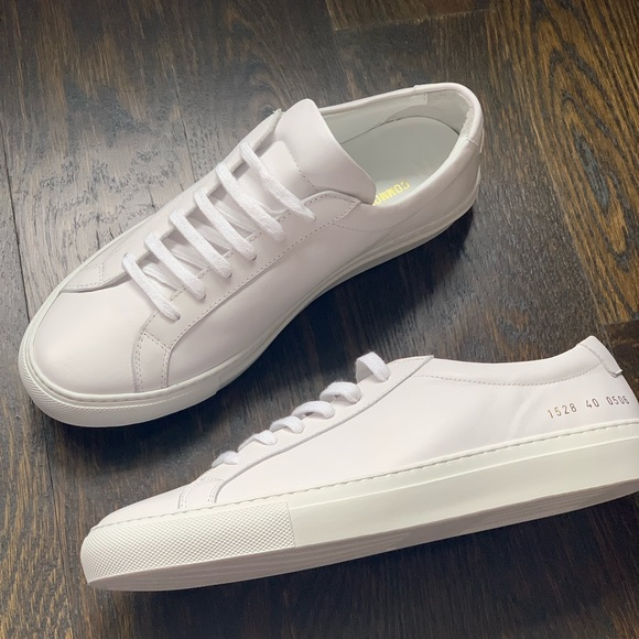 White Sneakers Mens Leather